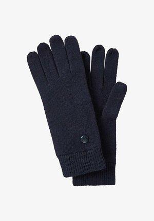 Gloves - sky captain blue