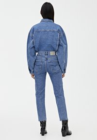 PULL&BEAR - MOM - Jeansy Slim Fit - blue - 2