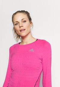 adidas Performance - ADI RUNNER - Funkční triko - scream pink - 3