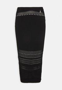 Patrizia Pepe - GONNA SKIRT - Pencil skirt - nero - 0