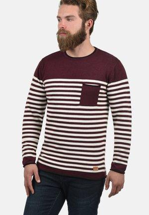 MANNIX - Sweatshirt - bordeaux