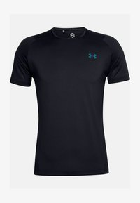 Under Armour - RUSH - T-shirts print - black - 2