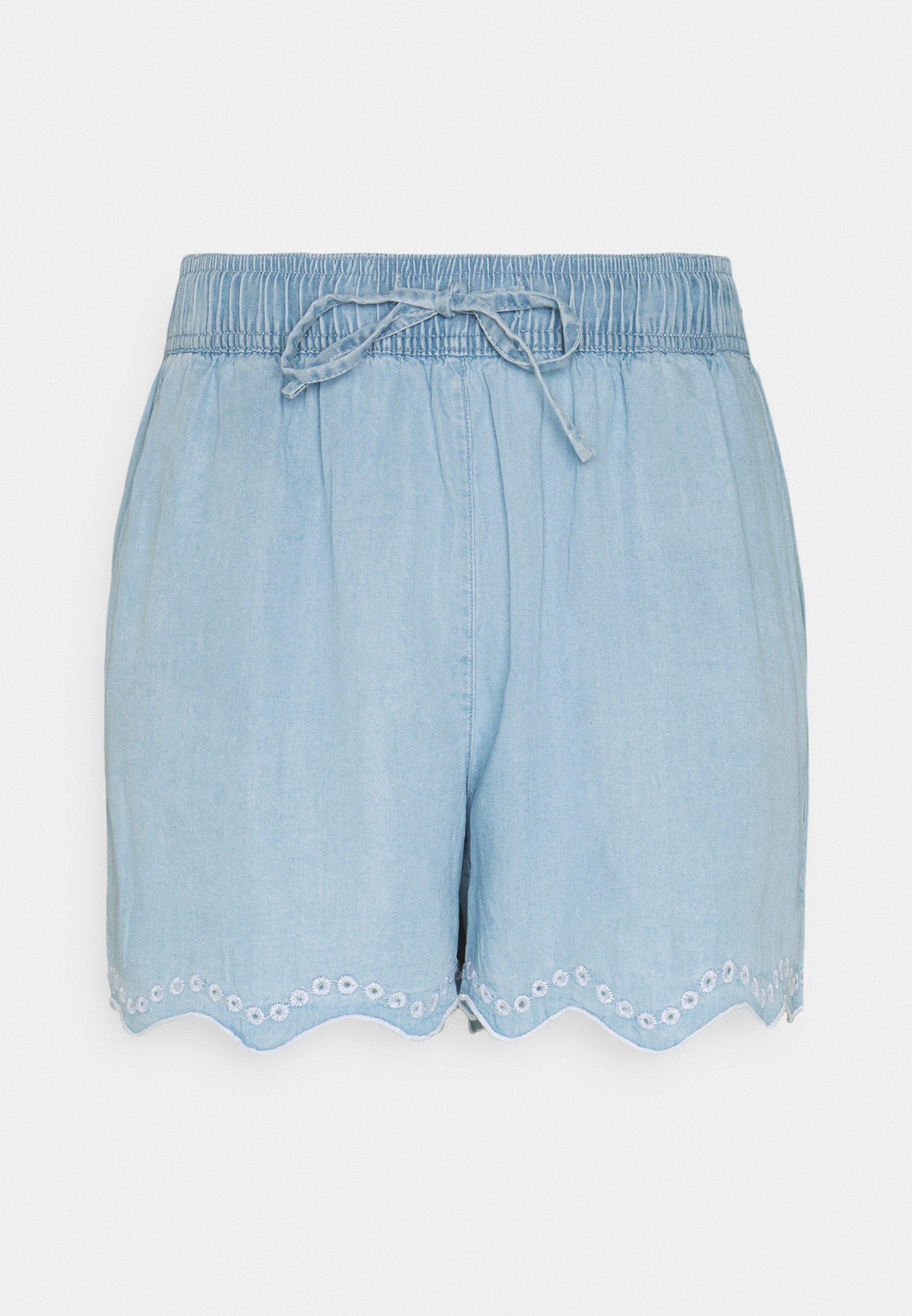 Women VIVIVIAN GUDNY  - Shorts - light blue