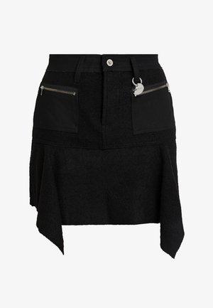 O-BRYEL-A GONNA - A-line skirt - black
