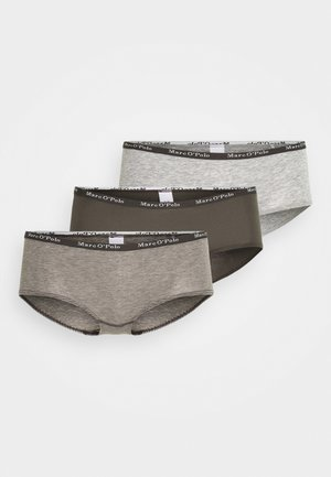 PANTY 3 PACK - Briefs - khaki