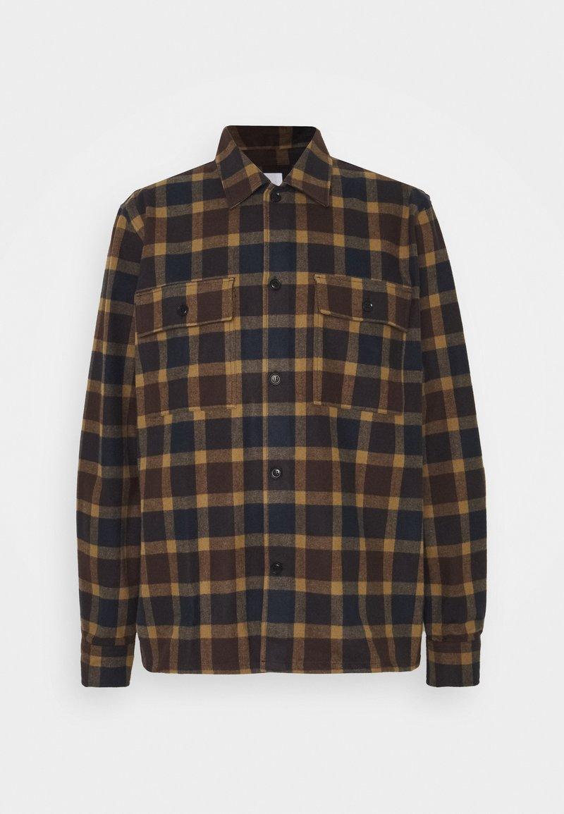 Wood Wood - FRANCO SHIRT - Shirt - navy