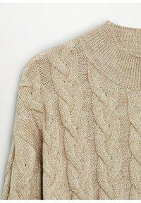 Mango - TRAIN - Pullover - halvbrun - 7