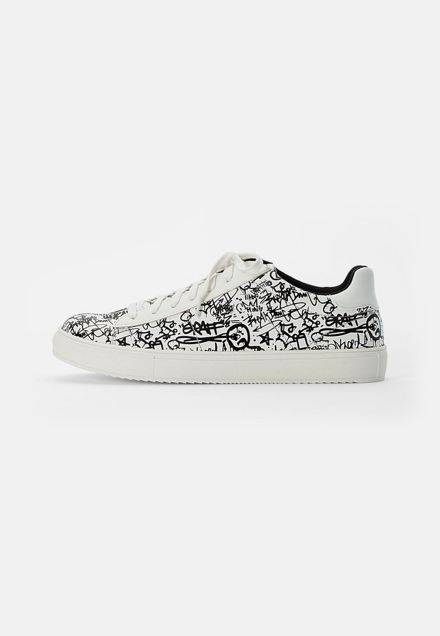 Sneakers basse - white black