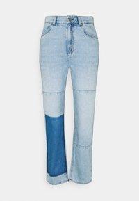 KENDALL + KYLIE - STRAIGHT LEG PANEL  - Straight leg jeans - light blue - 5