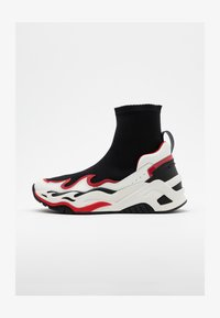 Just Cavalli - High-top trainers - black/white/red - 0
