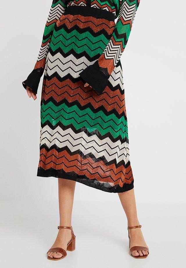 WAVE SKIRT - Maxi skirt - blarny