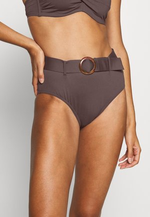 PANT HIGHWAIST - Bikini bottoms - brown