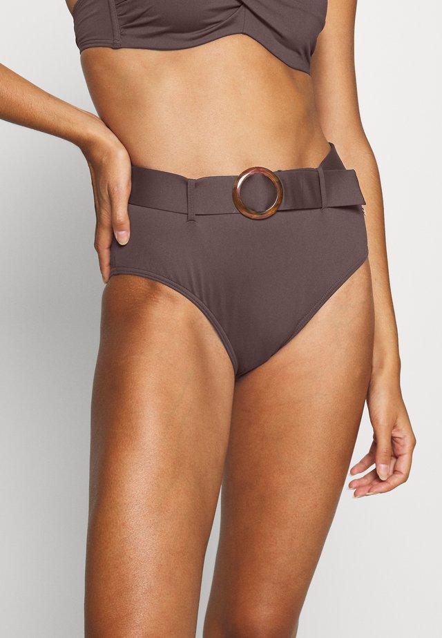 PANT HIGHWAIST - Bikinialaosa - brown