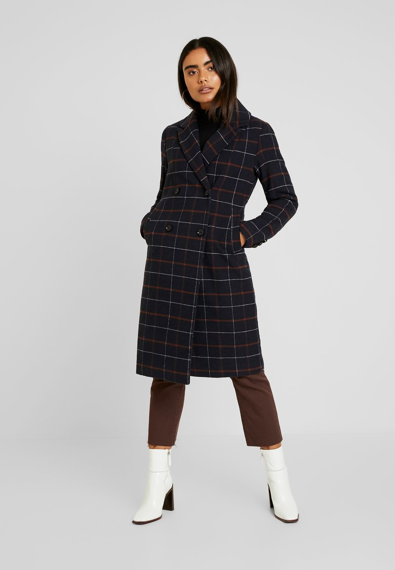 ONLY Petite - ONLNEW LOUISIANNA CHECK COAT - Classic coat - night sky