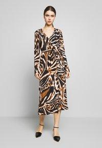 Diane von Furstenberg - TILLY - Day dress - multi-coloured/black/camel - 0