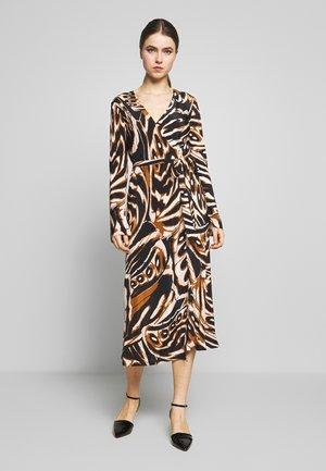 TILLY - Day dress - multi-coloured/black/camel