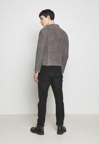 Serge Pariente - GLADATOR - Leather jacket - grey - 2