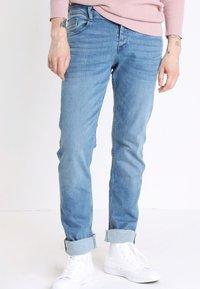 BONOBO Jeans - INSTINCT - Straight leg jeans - denim double stone - 0