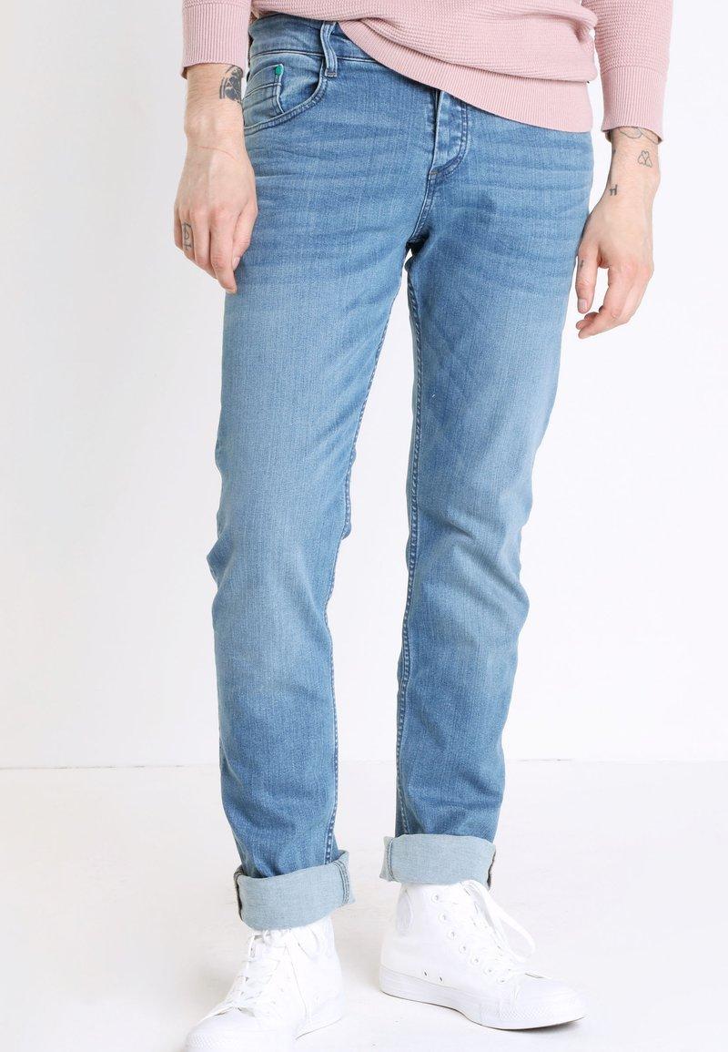 BONOBO Jeans - INSTINCT - Straight leg jeans - denim double stone