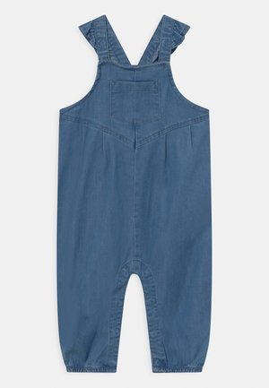 NBFATAS - Tuinbroek - medium blue denim