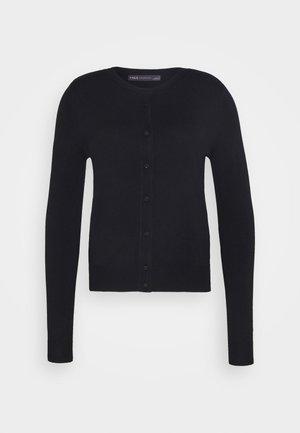 CREW CARDI PLAIN - Cardigan - black