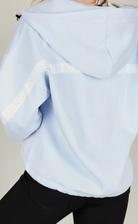 one more story - BASIC  - Zip-up hoodie - arctic ice color - 4