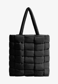 Mango - EDREDON - Shopping bags - noir - 0