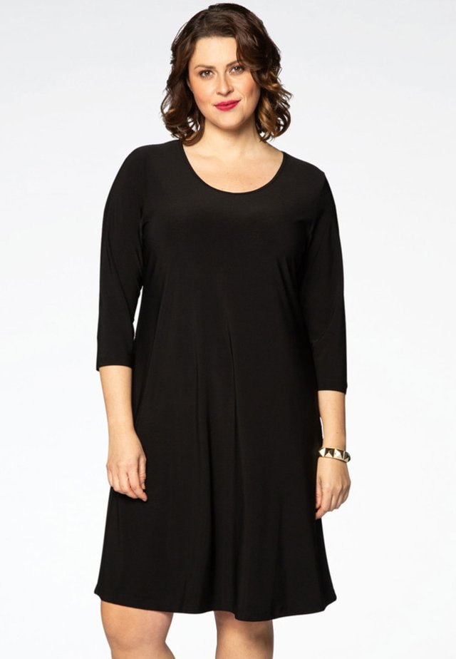 3/4 SLEEVE - Day dress - black