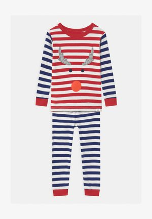 TODDLER DEER UNISEX - Pyjama set - modern red