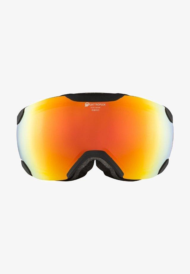 PHEOS S QHM - Ski goggles - black matt (a7243.x.35)