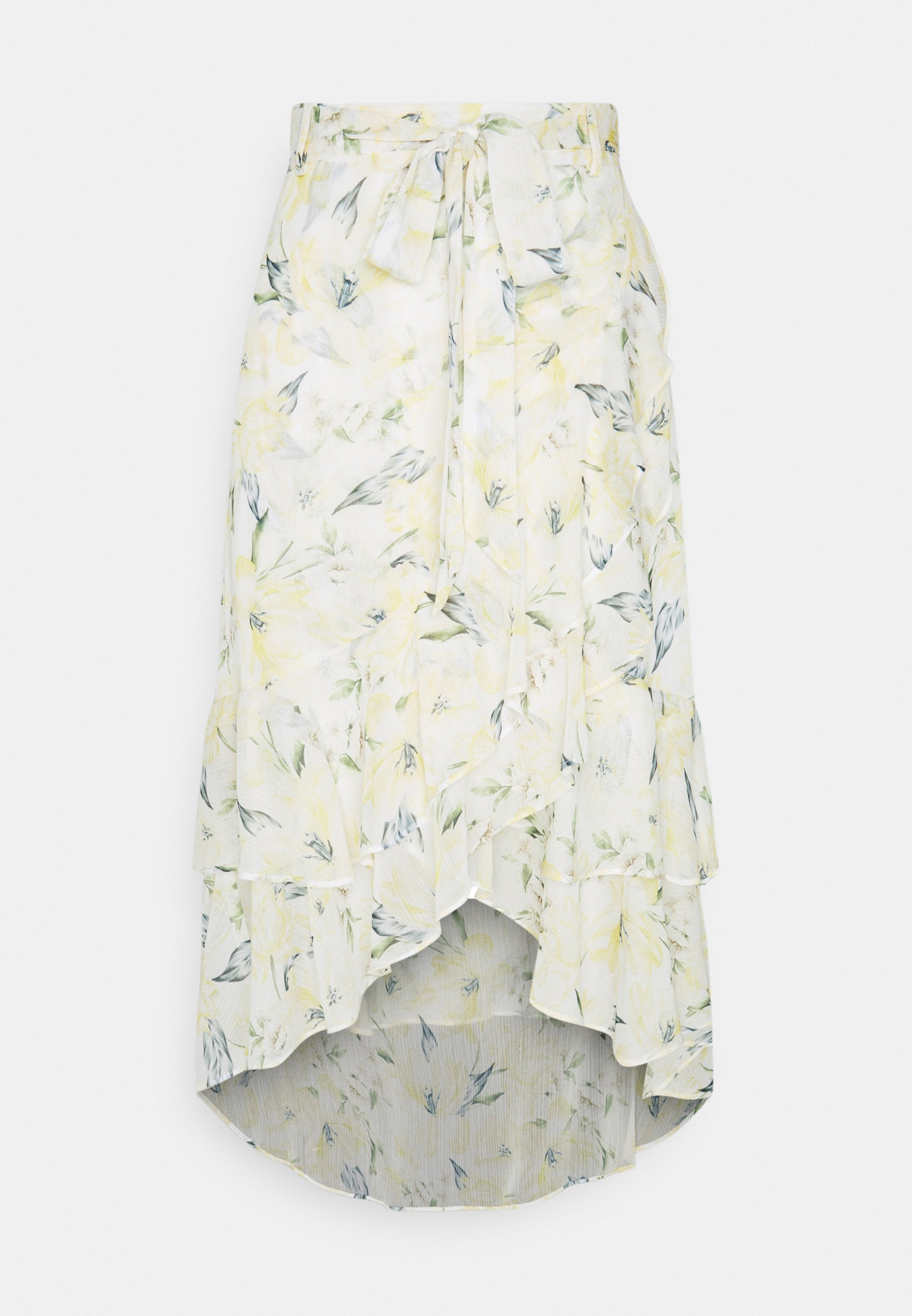 Women ALBA RUFFLE MIDI SKIRT - A-line skirt