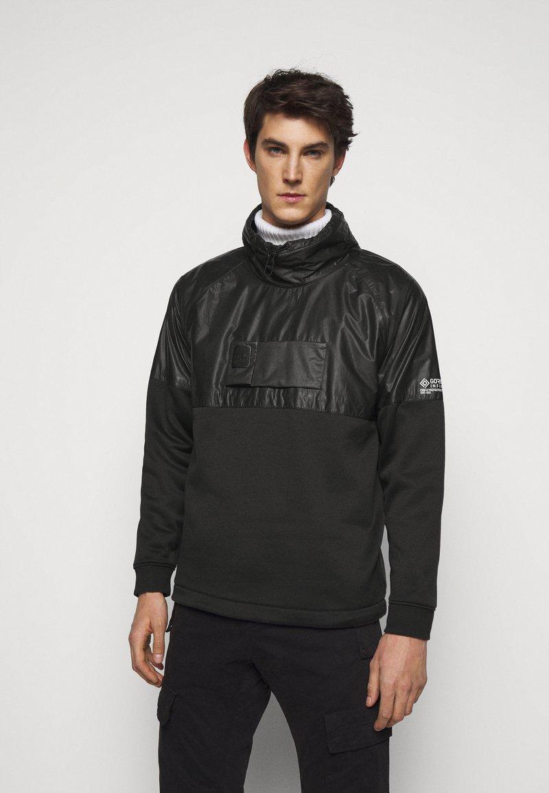 C.P. Company - TURTLE NECK - Sweatshirt - pirate black