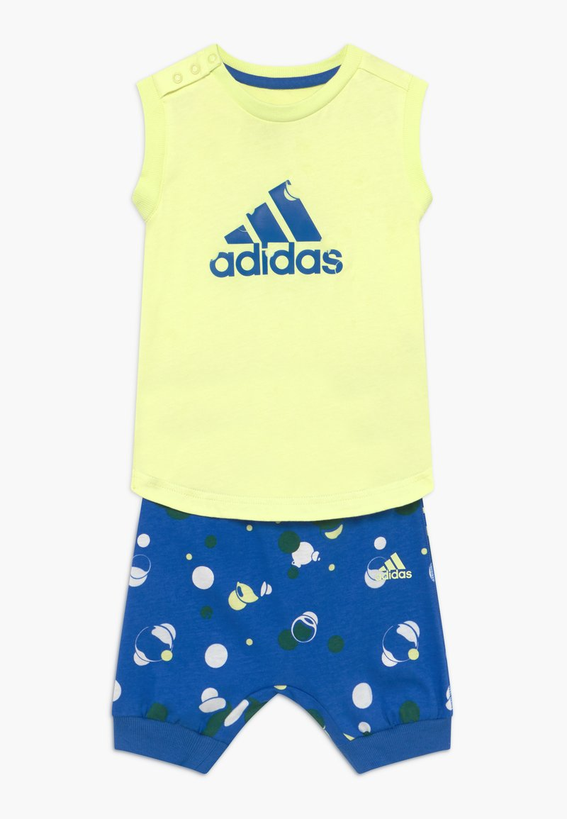 adidas Performance - SET  - Short de sport - yellow/blue