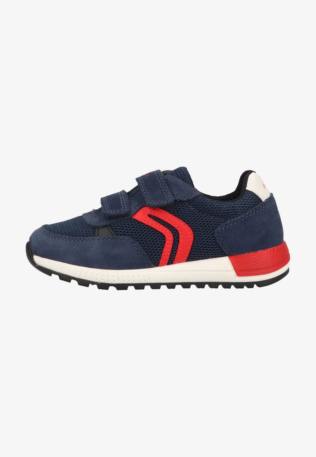 Baskets basses - navy red