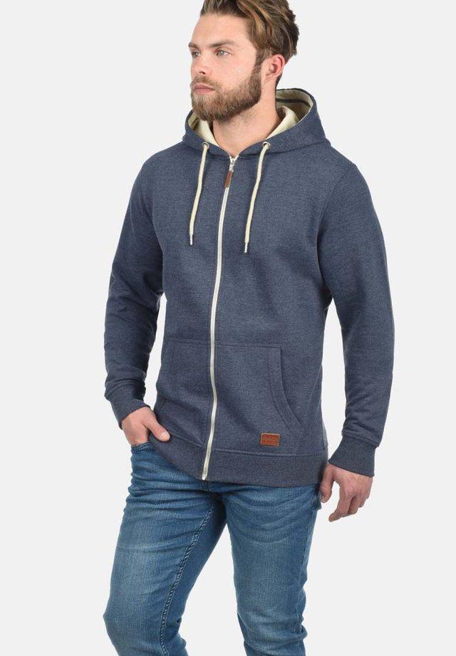 HULKER - veste en sweat zippée - navy