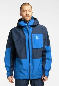 Haglöfs - LUMI JACKET - Ski jacket - tarn blue/storm blue - 0
