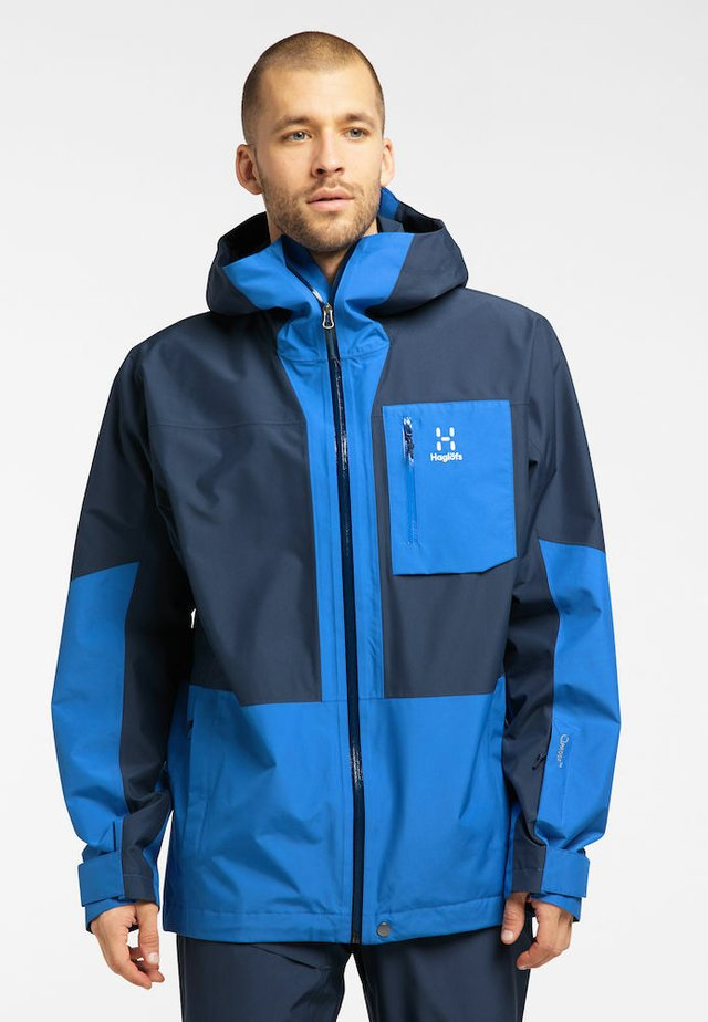 LUMI JACKET - Ski jacket - tarn blue/storm blue
