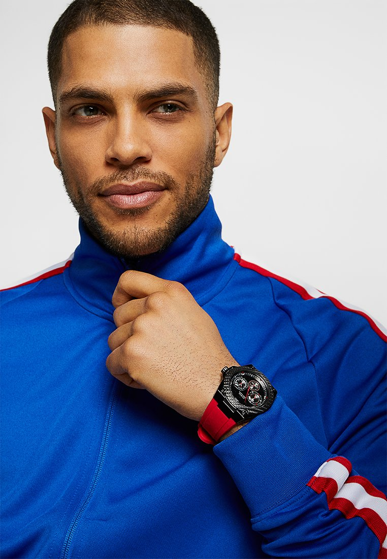 Guess - SPORT - Orologio - red/black