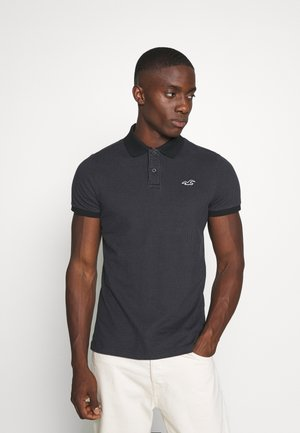 CORE PRINTS - Koszulka polo - black print