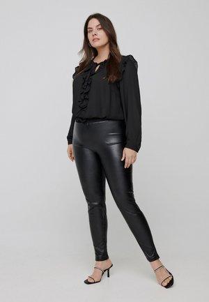 SPARKLY - Legging - black