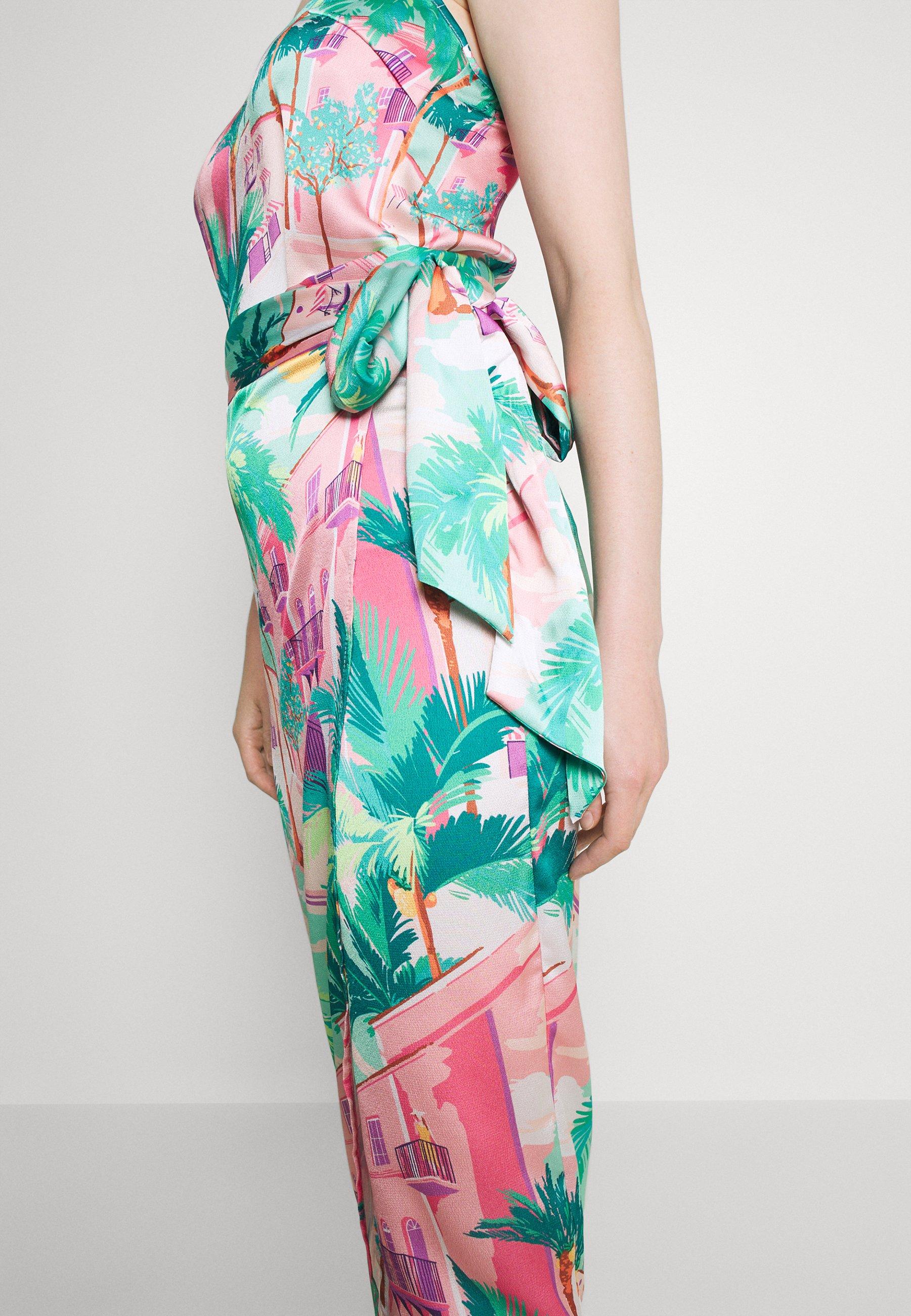 Femme SUMMER RAINBOW JASPRE - Jupe portefeuille