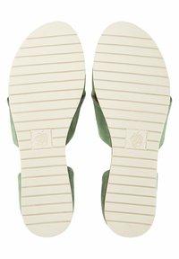 Apple of Eden - CHIUSI - Sandals - khaki - 4