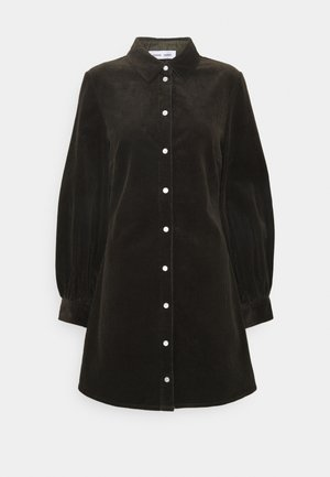 MOONSTONE DRESS - Shirt dress - black olive