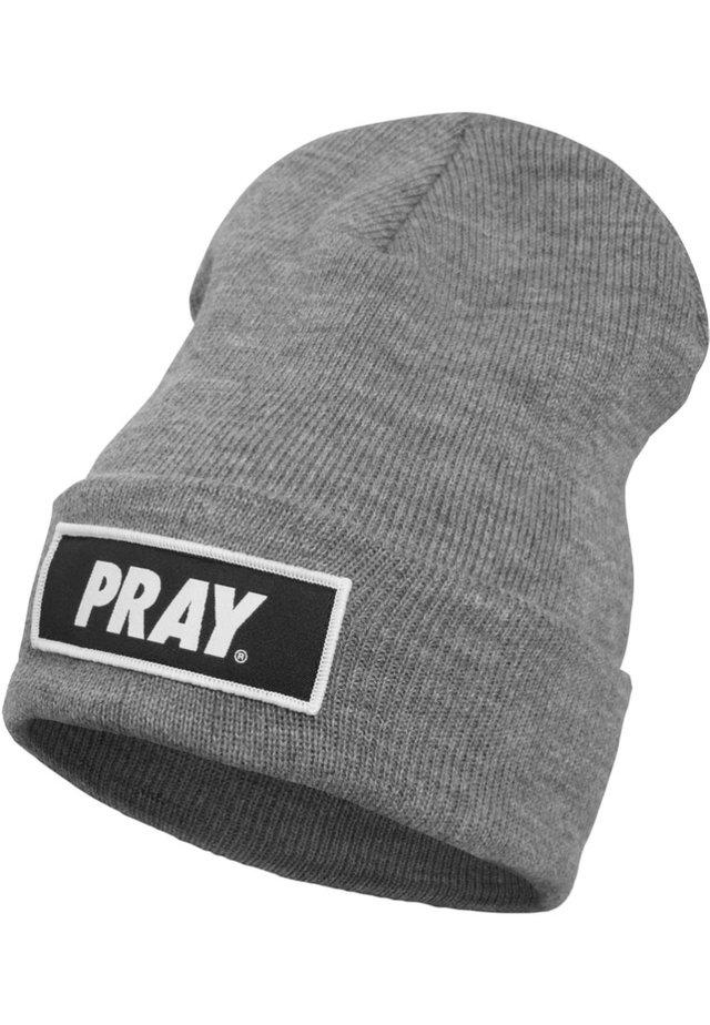 HERREN PRAY BEANIE - Muts - grey