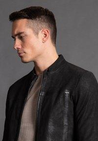 Tigha - WILSON  - Leather jacket - black - 3