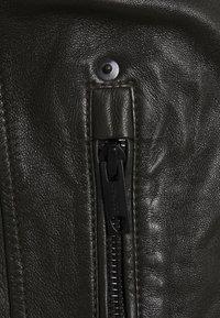Strellson - DRIVER - Leather jacket - dark brown - 6