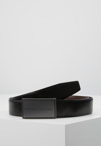 BELT - Belt - black/dark brown