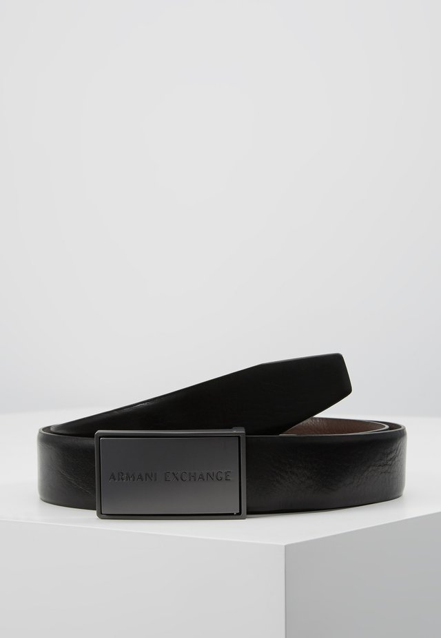 Belt - black/dark brown
