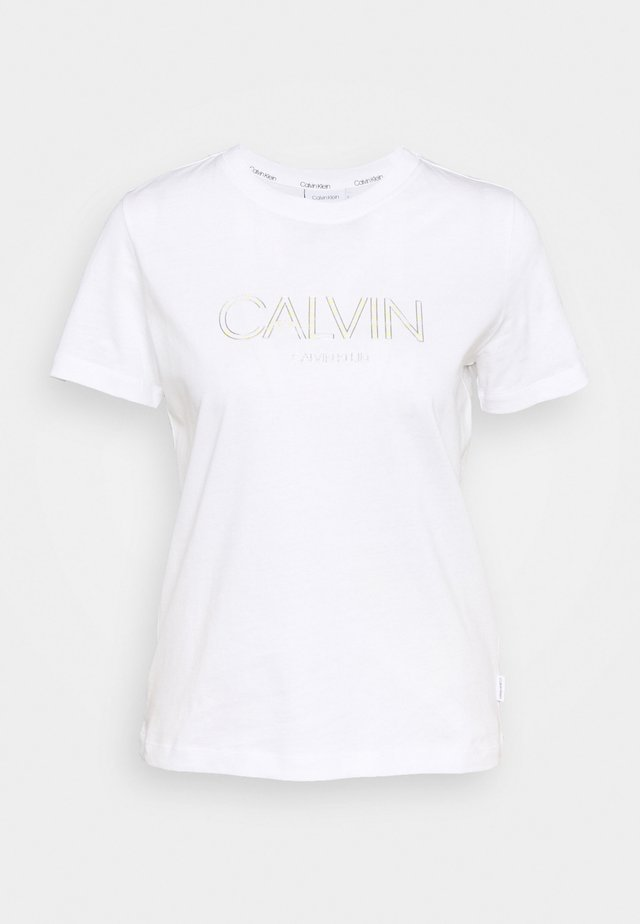 LOGO TEE - T-shirt print - bright white