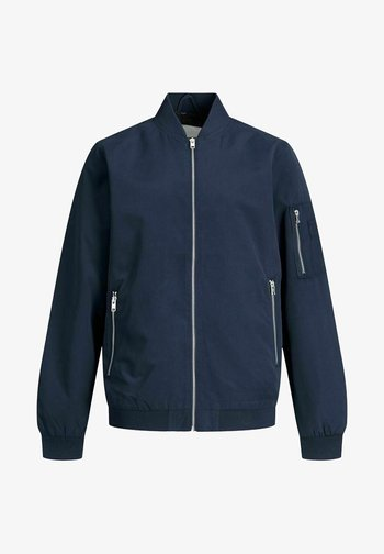Bomber Jacket - navy blazer